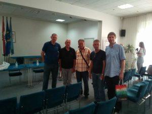 s djelatnicima Memorijalnog centra