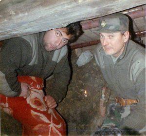 Ivica Mikas i Zdravko Žinić 4.12.1991