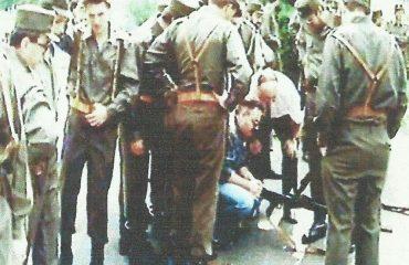 Bruno Čavić obučava pripadnike Brigade...