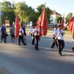 Mimohod ulicama u središtu Novske