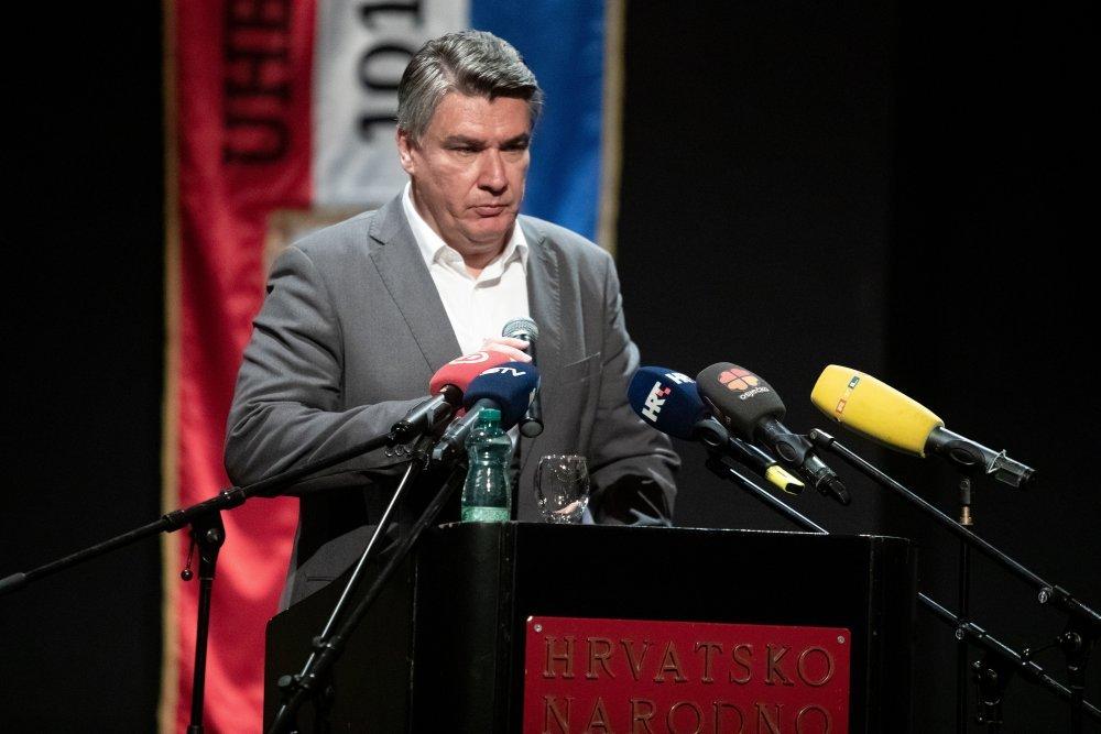 Zoran Milanović u Osijeku (Izvor Pixsell-autor Davor Javorović)